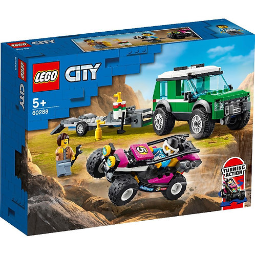 LEGO CITY 60288 Transportor de buggy / Транспортировка карта