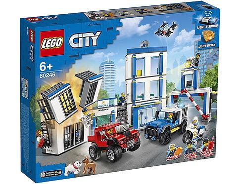 LEGO CITY 60246 Secția de poliție / Полицейский участок