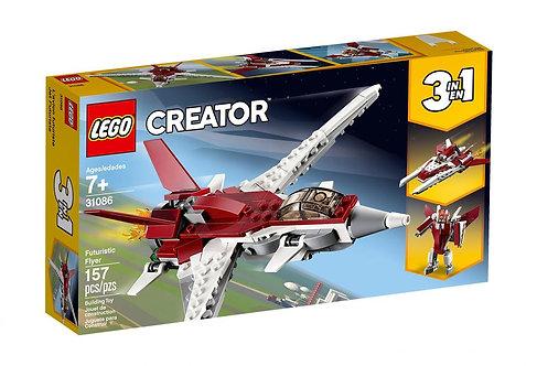 LEGO CREATOR 31086 Planorul viitorului / Истребитель будущего