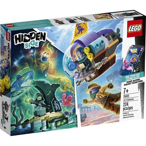 LEGO Hidden Side 70433 Submarinul lui JB / Подводная лодка Джей-Би