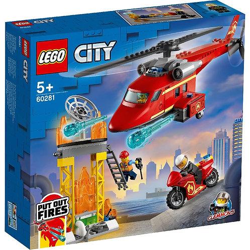 LEGO CITY 60281 Elicopter de pompieri / Спасательный пожарный вертолёт