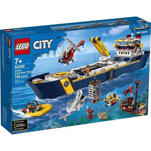 LEGO CITY 60266 Nava de recunoaștere / Исследовательское судно