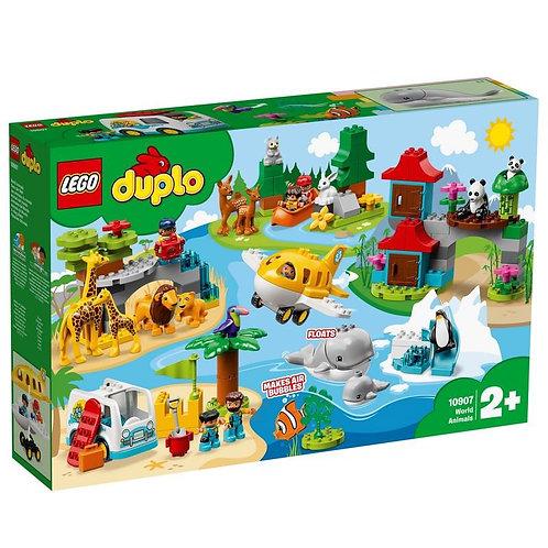 LEGO DUPLO 10907 Тропический остров / Animalele lumii