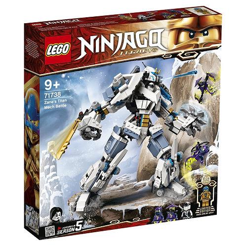 LEGO Ninjago 71738 Robotul Titan al lui Zane / Битва с роботом Зейна