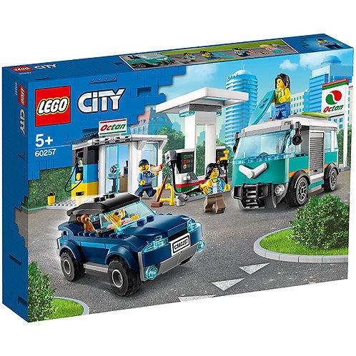 LEGO CITY 60257 Statie de service / Станция технического обслуживания