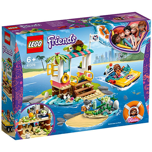 LEGO FRIENDS 41376  Misiunea de salvare a testoaselor / Спасение черепах