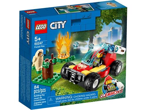 LEGO CITY 60247 Incendiu in padure / Лесной пожар