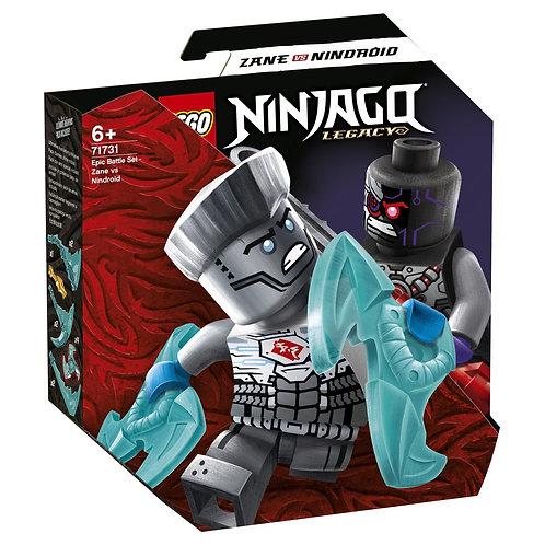 LEGO Ninjago 71731 Batalie epica - Zane vs. Nindroid / Зейн против Ниндроида