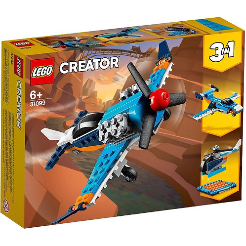 LEGO CREATOR 31099 Avion cu elice / Винтовой самолёт