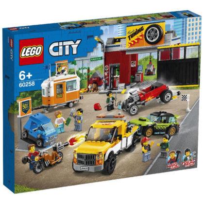 LEGO CITY 60258 Atelier de tuning / Мастерская по усовершенствованию