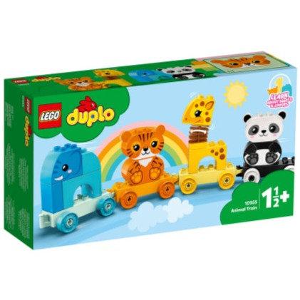 LEGO DUPLO 10955 Trenul animalelor / Мой первый поезд для зверей