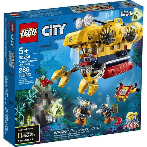 LEGO CITY 60264 Submarin de explorare a oceanului / Исследовательская подлодка