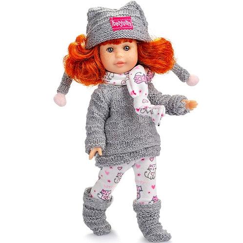 BERJUAN 1017 Papusa din vinil 22cm / Кукла виниловая 22 см