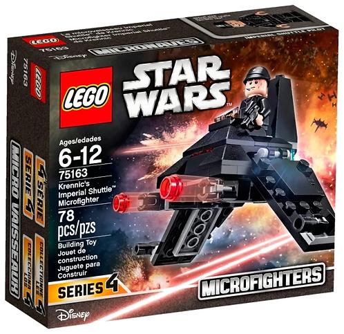 LEGO Star Wars 75163 Микроистребитель Имперский шаттл Кренника