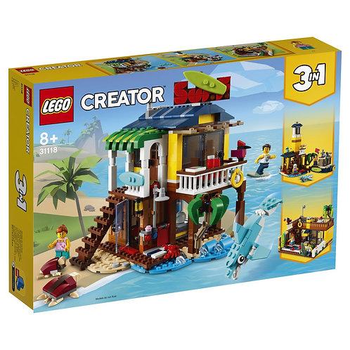 LEGO Creator 31118 Casuta surferilor / Пляжный домик серферов