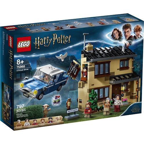 LEGO Harry Potter 75968 Drumul privat 4 / Тисовая улица дом 4