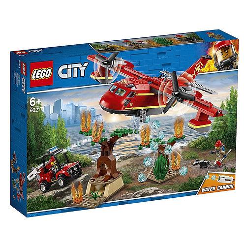 LEGO CITY 60217 Avionul pompierilor / Пожарный самолёт