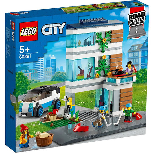 LEGO CITY 60291 Casa familiei /Семейный дом