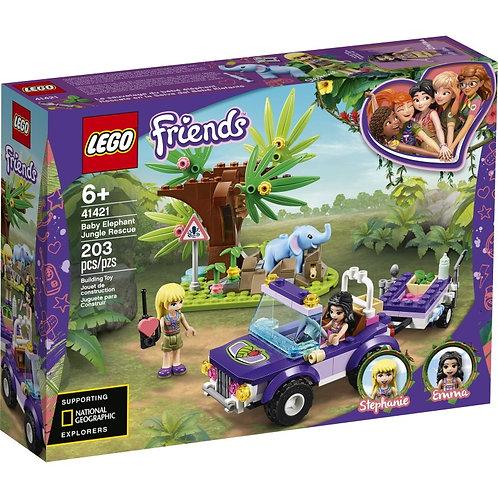 LEGO FRIENDS 41421 Salvarea puiului de elefant / Джунгли Спасение слонёнка