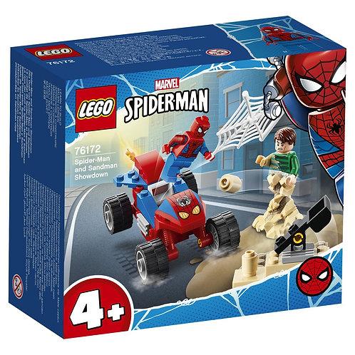 LEGO SUPER HERO 76172 Spider-Man vs. Sandman / Человек-Паук и Песочный Человек