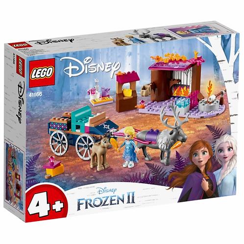 LEGO DISNEY 41166 Aventura Elsei cu trasura / Дорожные приключения Эльзы