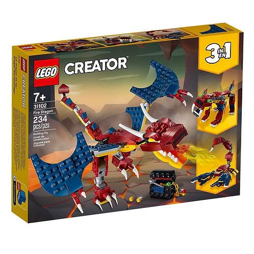 LEGO CREATOR 31102 Dragon de foc / Огненный дракон