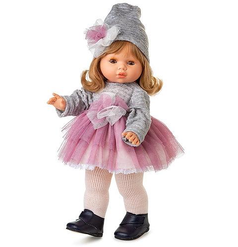 BERJUAN 1152 Papusa din vinil 45 cm / Кукла виниловая 45 см