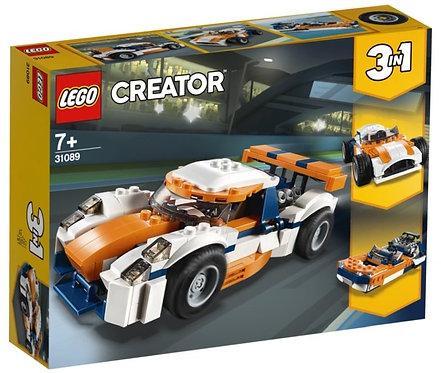 LEGO CREATOR 31089  Masina de curse Sunset / Оранжевый гоночный автомобиль