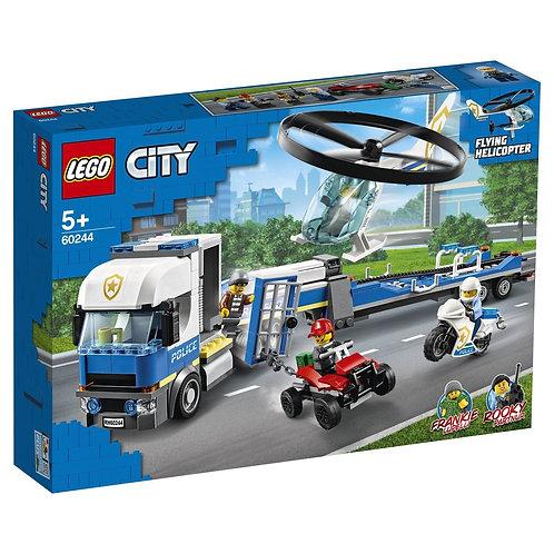LEGO CITY 60244 Transportul elicopterului / Полицейский транспортный вертолет