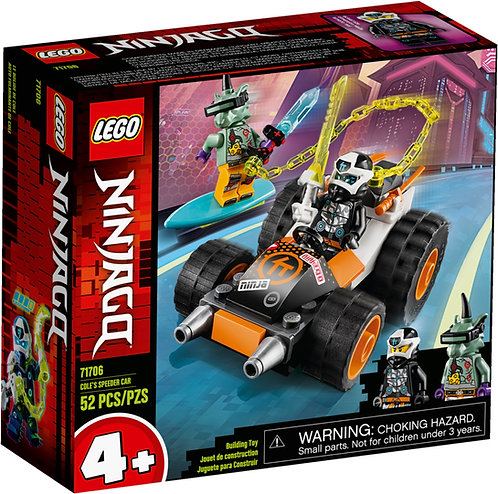 LEGO NINJAGO 71706 Masina de viteza a lui Cole / Скоростной автомобиль Коула
