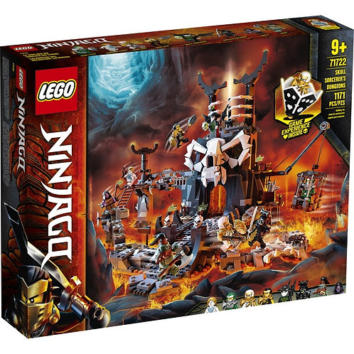 LEGO NINJAGO 71722 Vrăjitori de craniu Ninjago / Подземелье колдуна-скелета