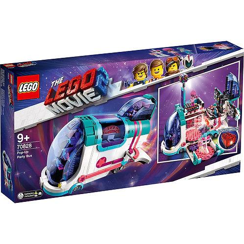 LEGO MOVIE 70828 Автобус для вечеринки / Petrecere pop-up in autobuz