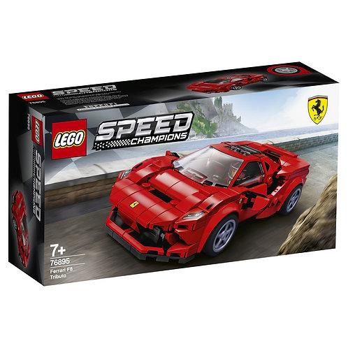 LEGO Speed Champions 76895 Ferarri F8 Tributo