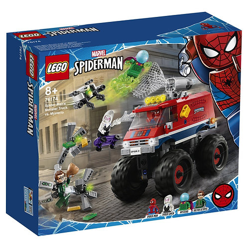 LEGO SUPER HERO 76174 Monster Truck Spider-Man vs. Mysterio / ТракЧеловека-Паука