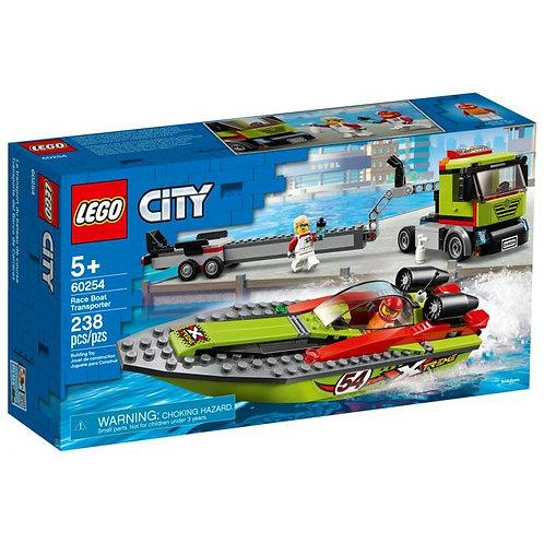 LEGO CITY 60254 Transportor de barca de curse / Транспортировщик катера
