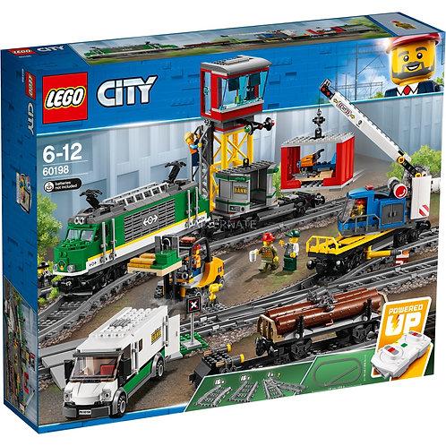 Lego City 60198 Tren marfar / Товарный поезд