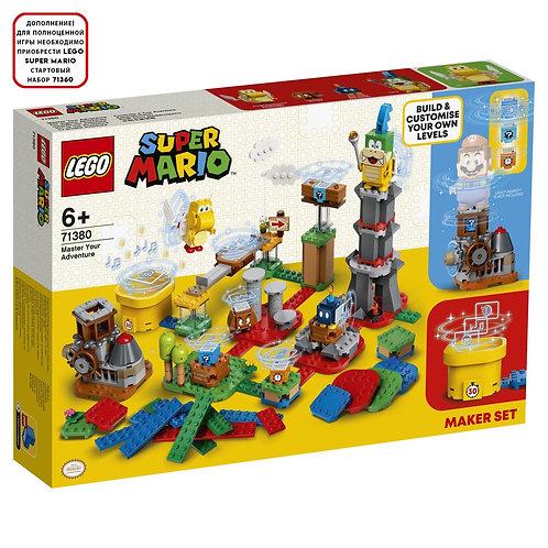 LEGO SUPER MARIO 71380 Construieste-ti aventurile / Твои уровни! Твои Приключени