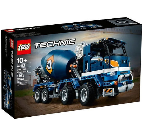 LEGO TECHNIC 42112 Mixer truck / Бетономешалка