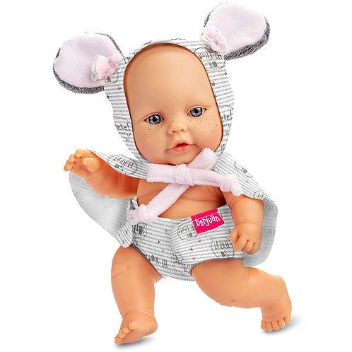 BERJUAN 50302 Papusa din vinil 24cm / Кукла виниловая 24 см