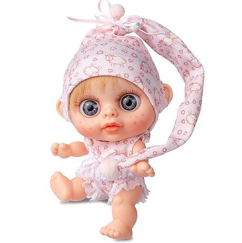 BERJUAN 24100 Papusa din vinil 14cm / Кукла виниловая 14 см