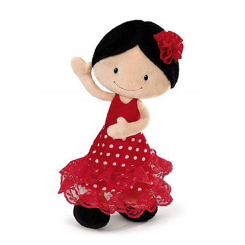 NICI 38927 Papusa FLAMENCO / Кукла фламенко 30cm