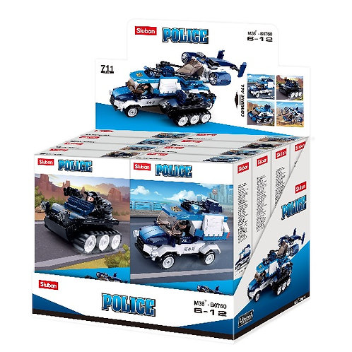 SLUBAN Vehiculele poliției / Полицейская техника