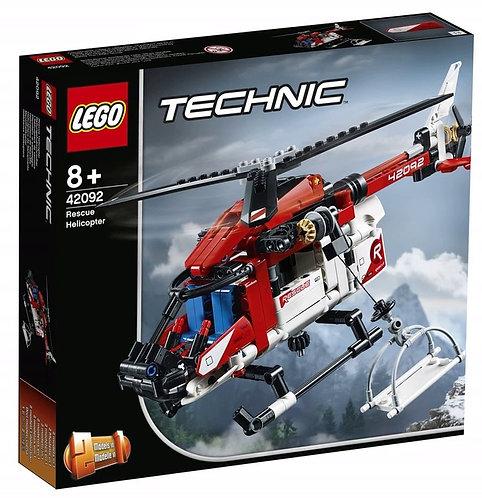 LEGO TECHNIC 42092  Elicopter de salvare / Спасательный вертолет