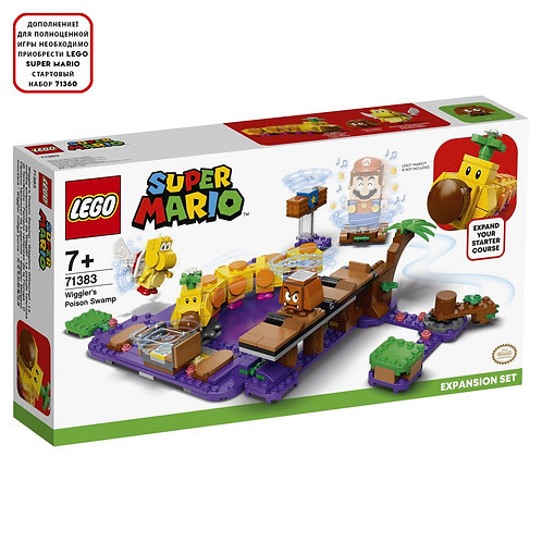 LEGO SUPER MARIO 71383 Set de extindere Mlastina otravitoare / Ядовитое болото