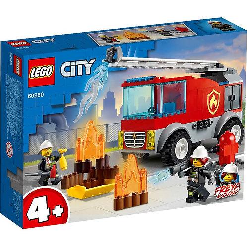 LEGO CITY 60280 Masina de pompieri cu scara / Пожарная машина с лестницей