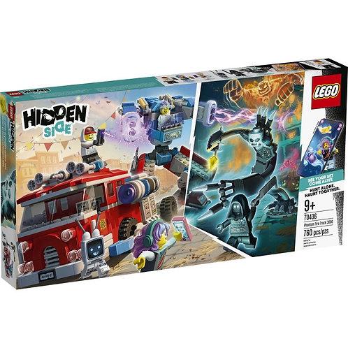 LEGO Hidden Side 70436 Camionul de pompieri Phantom / Фантомная пожарная машина