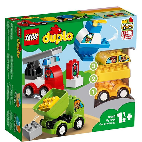 LEGO DUPLO 10886 Primele mele Masini Creative / Мои первые машинки