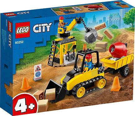 LEGO CITY 60252 Buldozer pentru constructii / Строительный бульдозер