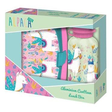 Alpaca Set cutie de prânz + slicla / Альпака Набор ланчбокс +  бутылочка