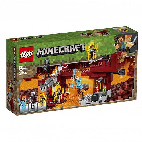 LEGO MINECRAFT 21154  Podul Flacarilor / Мост ифрита